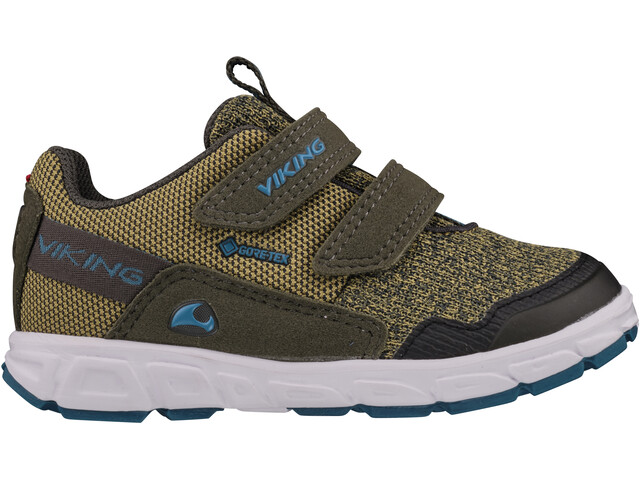 Viking Footwear Rindal GTX Shoes Kids huntinggreen/olive